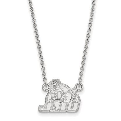 Picture of James Madison University Dukes Sterling Silver Small Necklace
