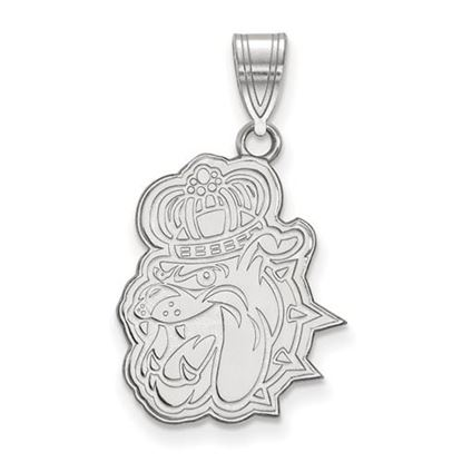 Picture of James Madison University Dukes Sterling Silver Large Pendant