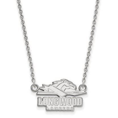 Picture of Longwood University Lancers Sterling Silver Small Necklace