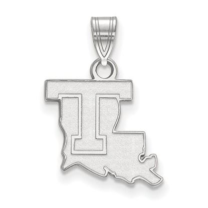 Picture of Louisiana Tech University Bulldogs Sterling Silver Small Pendant