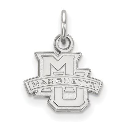 Picture of Marquette University Golden Eagles Sterling Silver Extra Small Pendant