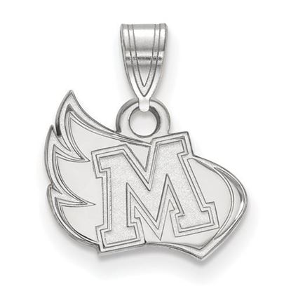 Picture of Meredith College Avenging Angels Sterling Silver Small Pendant
