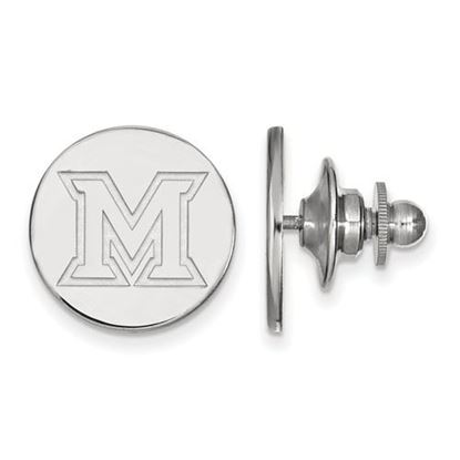 Picture of Miami University Redhawks Sterling Silver Lapel Pin