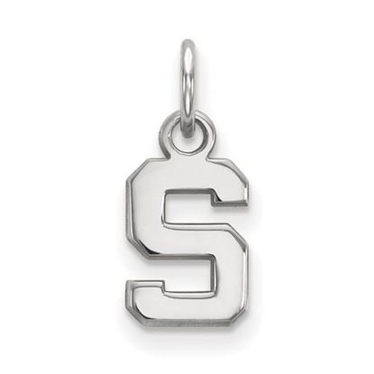 Picture of Michigan State University Spartans Sterling Silver Extra Small Pendant