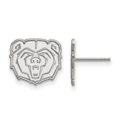 Picture of Missouri State University Bears Sterling Silver Small Post Earrings