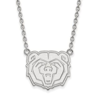 Picture of Missouri State University Bears Sterling Silver Large Necklace