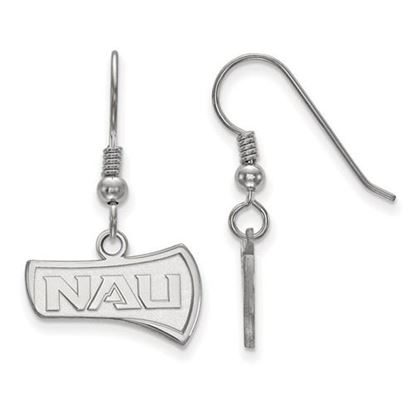 Picture of Northern Arizona University Lumberjacks Sterling Silver Small Dangle Earrings