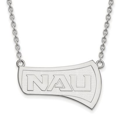 Picture of Northern Arizona University Lumberjacks Sterling Silver Large Necklace