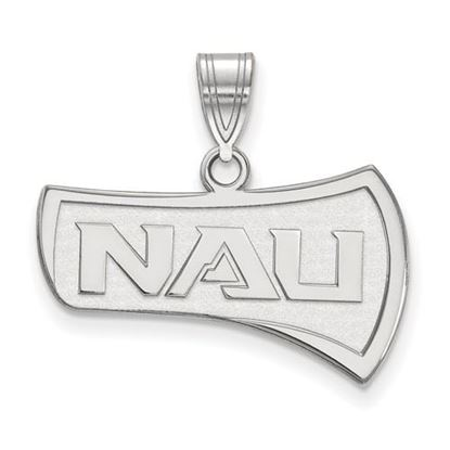 Picture of Northern Arizona University Lumberjacks Sterling Silver Large Pendant