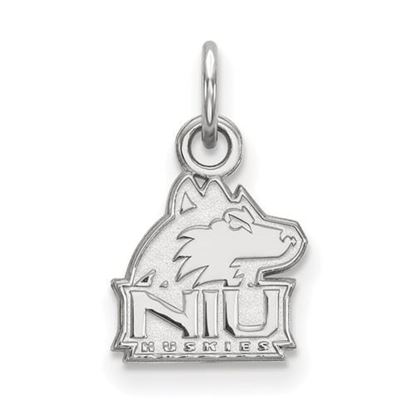 Picture of Northern Illinois University Huskies Sterling Silver Extra Small Pendant