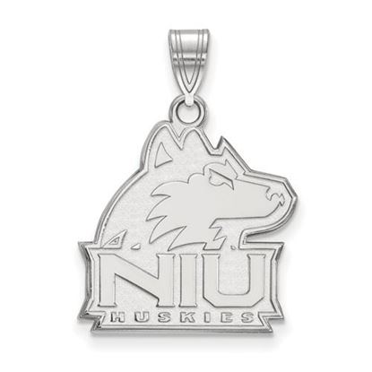 Picture of Northern Illinois University Huskies Sterling Silver Large Pendant