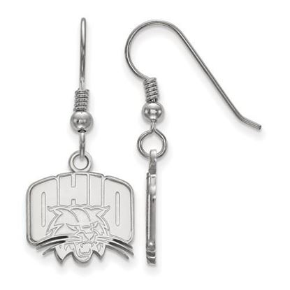 Picture of Ohio University Bobcats Sterling Silver Small Dangle Earrings