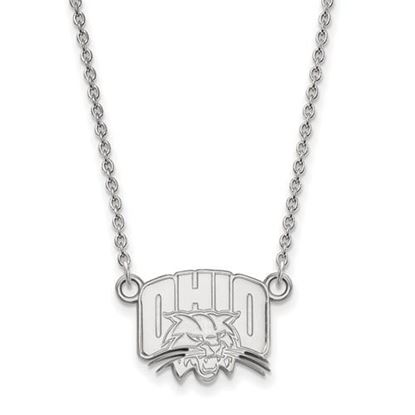 Picture of Ohio University Bobcats Sterling Silver Small Necklace