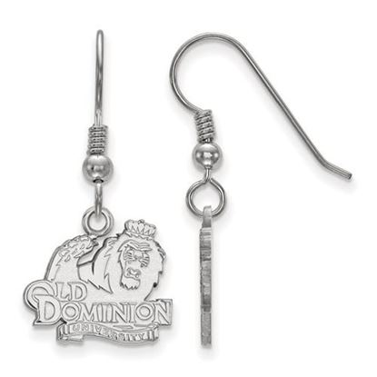 Picture of Old Dominion University Monarchs Sterling Silver Small Dangle Earrings