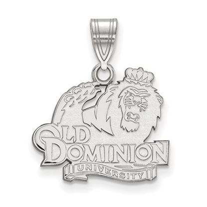 Picture of Old Dominion University Monarchs Sterling Silver Medium Pendant