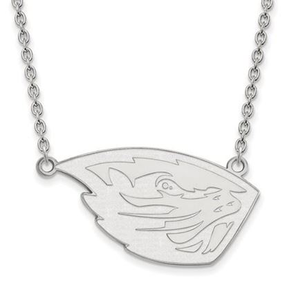 Picture of Oregon State University Beavers Sterling Silver Large Necklace