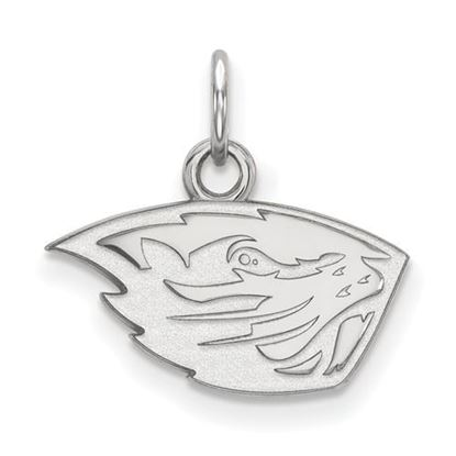 Picture of Oregon State University Beavers Sterling Silver Extra Small Pendant