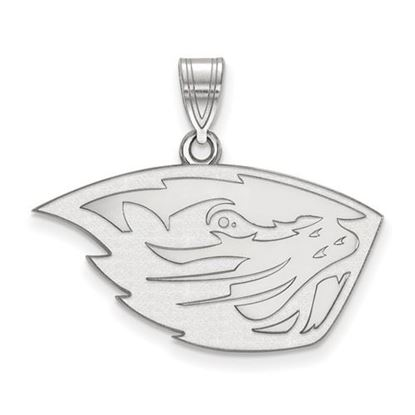 Picture of Oregon State University Beavers Sterling Silver Medium Pendant
