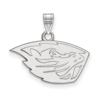 Picture of Oregon State University Beavers Sterling Silver Small Pendant