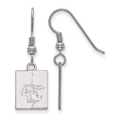Picture of Pittsburgh State University Gorillas Sterling Silver Small Dangle Earrings