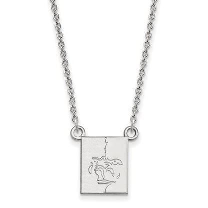 Picture of Pittsburgh State University Gorillas Sterling Silver Small Necklace