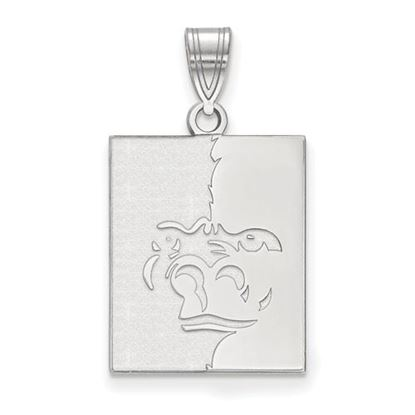 Picture of Pittsburgh State University Gorillas Sterling Silver Large Pendant