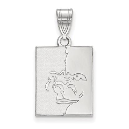 Picture of Pittsburgh State University Gorillas Sterling Silver Medium Pendant