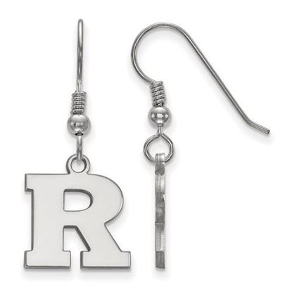 Picture of Rutgers University Scarlet Knights Sterling Silver Small Dangle Earrings