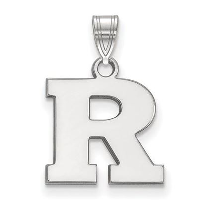 Picture of Rutgers University Scarlet Knights Sterling Silver Small Pendant