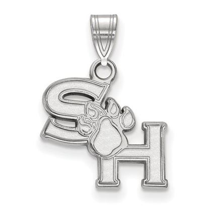 Picture of Sam Houston State University Bearkats Sterling Silver Small Pendant