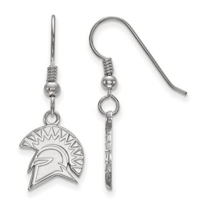Picture of San Jose State University Spartans Sterling Silver Small Dangle Earrings