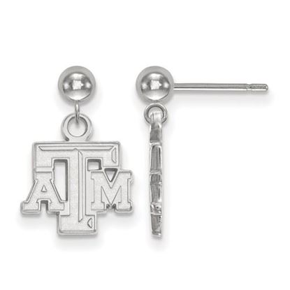 Picture of Texas A&M University Aggies Sterling Silver Dangle Earrings