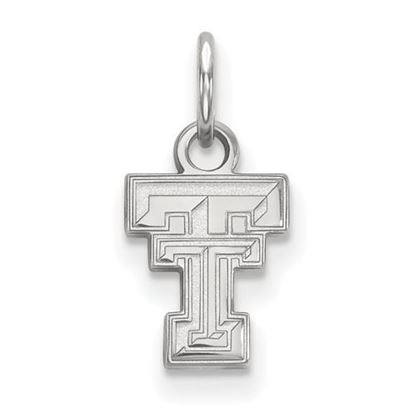 Picture of Texas Tech University Red Raiders Sterling Silver Extra Small Pendant