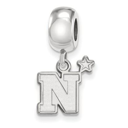 Picture of U.S. Naval Academy Midshipmen Sterling Silver Small Dangle Bead