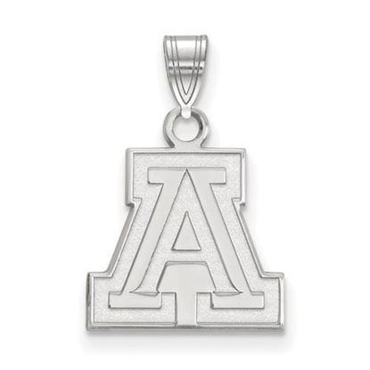 Picture of University of Arizona Wildcats Sterling Silver Small Pendant