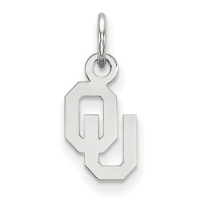 Picture of University of Oklahoma Sooners Sterling Silver Extra Small Pendant