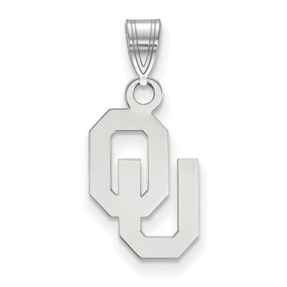 Picture of University of Oklahoma Sooners Sterling Silver Small Pendant
