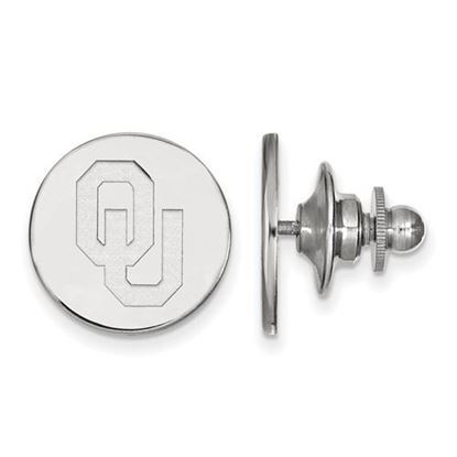 Picture of University of Oklahoma Sooners Sterling Silver Lapel Pin