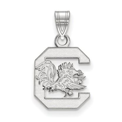 Picture of University of South Carolina Gamecocks Sterling Silver Small Pendant