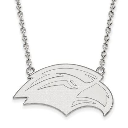 Picture of University of Southern Mississippi Golden Eagles Sterling Silver Large Necklace