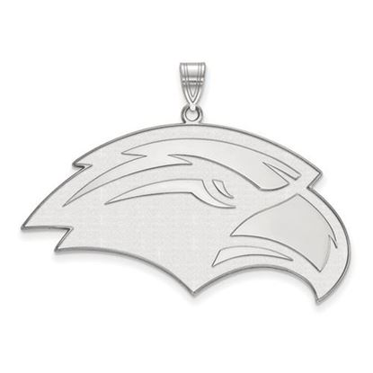 Picture of University of Southern Mississippi Golden Eagles Sterling Silver Extra Large Pendant