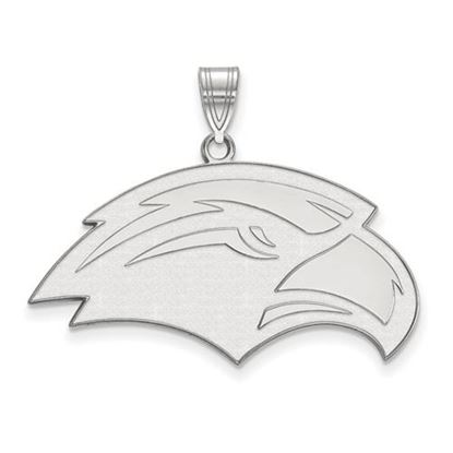 Picture of University of Southern Mississippi Golden Eagles Sterling Silver Large Pendant