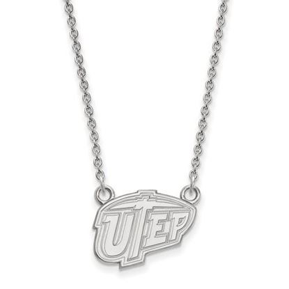 Picture of University of Texas at El Paso Miners Sterling Silver Small Necklace