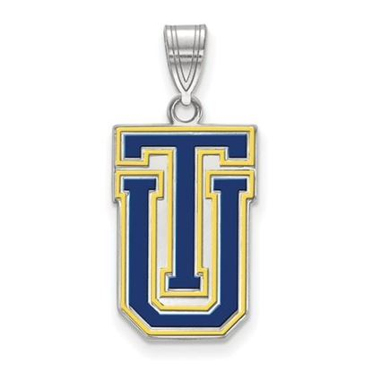 Picture of University of Tulsa Golden Hurricanes Sterling Silver Large Enameled Pendant