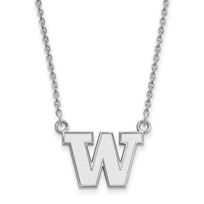 Picture of University of Washington Huskies Sterling Silver Small Necklace