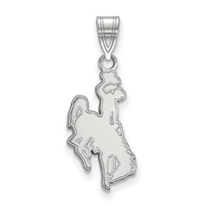 Picture of University of Wyoming Cowboys Sterling Silver Large Pendant