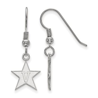 Picture of Vanderbilt University Commodores Sterling Silver Small Dangle Earrings