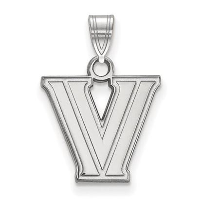 Picture of Villanova University Wildcats Sterling Silver Small Pendant