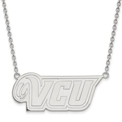 Picture of Virginia Commonwealth University Rams Sterling Silver Large Necklace