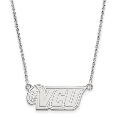 Picture of Virginia Commonwealth University Rams Sterling Silver Small Necklace